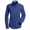 1T11RB Women's Royal Long Sleeve Meridian Preformance Twill Shirt