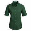 1T21EM Women's Emerald Short Sleeve Meridian Preformance Twill Shirt