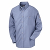 SEG6LB Excel-FR™ Light Blue Button Dress Uniform Shirt