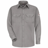 SMU4GY Grey Flame Resistant Dress Uniform Shirt - CoolTouch®