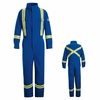 CNBTRB Deluxe Royal Blue Coverall with Reflective Trim HRC1