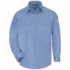 SLU8LB Men's Light Blue Excel-FR ComforTouch 6 oz. Uniform Shirt