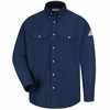 SMU2NV Cool Touch®  II Navy Flame Resistant Dress Uniform Shirt HRC2