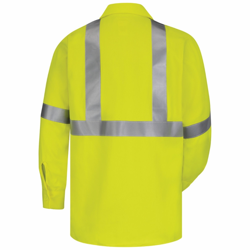 317bcd282c35 SMW4 - Hi-Visibility Flame-Resistant Work Shirt-Long Sleeve