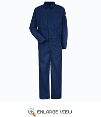 CLD4RB 6 oz. EXCEL FR Flame-Resistant Royal Deluxe Coverall