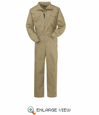 CLB2KH EXCEL-FR™ COMFORTOUCH™ 7oz. Khaki Deluxe Coverall