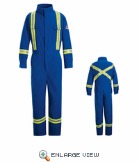 CNBT Deluxe Coverall with Reflective Trim HRC1