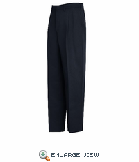 PT44NV Relaxed Fit Navy Pleated Pant - Discontinued