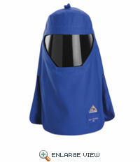 HTC4RBB 40 Cal/cm² Royal Blue Hood With Protective Shield HRC4-Discontinued