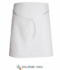 1790WH White 4-Way Bar Apron