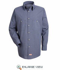 SP1020MC Micro-Check Work Shirt(3-Colors)