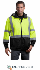ANSI Class 3 Safety Windbreaker. CSJ25