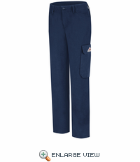 PMU3NV Women's Navy COOLTOUCH® 2 Cargo Pocket Work Pant