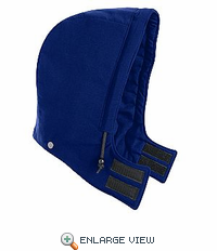 HNH2RB NOMEX® IIIA Royal Blue Universal Fit Snap-ON Insulated Hood