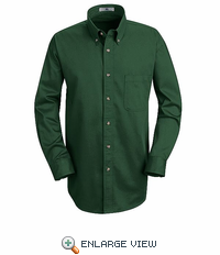 1T12EM Emerald Long Sleeve Meridian Preformance Twill Shirt