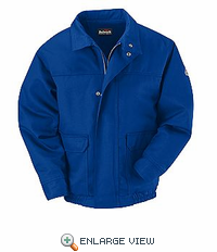 JLJ8RB EXCEL- FR™ COMFORTOUCH™  Royal Blue Lined Bomber Jacket