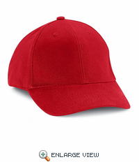 HB20RD Red Cotton Ball Cap