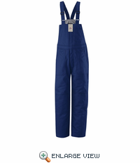 BLC8RB EXCEL- FR™ COMFORTOUCH™ Deluxe Royal Blue Insulated Bib Overall