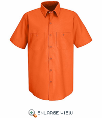 SS24 Fluorescent Short Sleeve  Enhanced Visibility Shirt (2-Color)