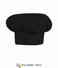 HP60BK Black Chef Hat