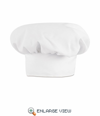 HP60WH White Chef Hat