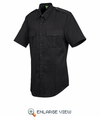 HS1452 Men's Short Sleeve New Dimension® Stretch Twill Shirt - Discontinued