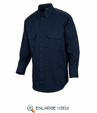 HS1500 Dark Navy Unisex Long Sleeve Special OPS Woven Shirt