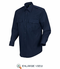 HS1138 Men's Dark Navy Long Sleeve Sentry Plus Shirt