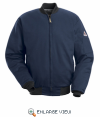 JET2NV Bulwark EXCEL- FR™ Navy Team Jacket