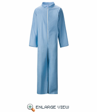 KEE2SB Extend® Sky Blue Disposable Flame Resistant Coverall - (CASE ONLY)