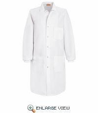 KP70WH White Specialized Cuffed Lab Coat