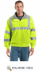 Safety Challenger Jacket with Reflective Taping SRJ754