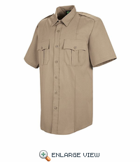 HS1291 Women's Silver Tan Short Sleeve Sentry Plus Shirt