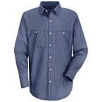 Stripe Work Shirts