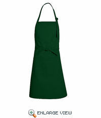 TT30HG Hunter Green Premium Bib Apron