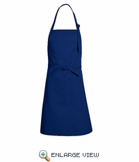 TT30RB Royal Blue Premium Bib Apron