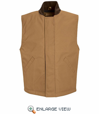 VD22 Blended Duck Insulated Snap Front Vest (2 Colors)