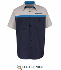 SP24MZ Mazda Technician Short Sleeve Shirt