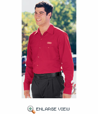 SP14RD-A1 Audi Red Long  Sleeve Technician Shirt