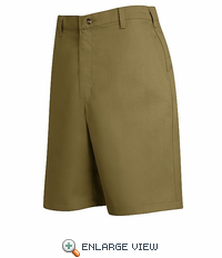 PC26KH Men's Khaki Cotton Casual Shorts