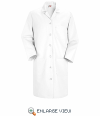 KP13WH Women's White Red Kap Lab Coat