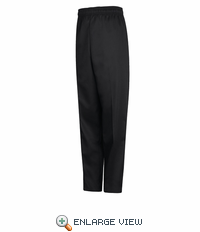 PS54BK Black Spun Poly Baggy Chef Pant