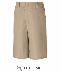 PT42KH  Men's Khaki Side Elastic Shorts
