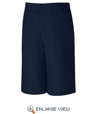 PT42NV  Men's Navy Side Elastic Shorts
