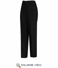 PT61BK Women's Black Side-Elastic Insert Pant