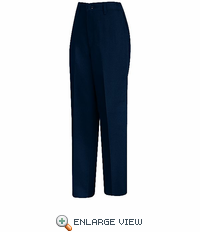 PT61NV Women's Navy Side-Elastic Insert Pant