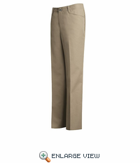 PZ33KH Woman's Khaki Work NMotion® Pant