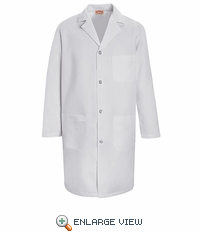 KT34WH Men's White Staff Coat