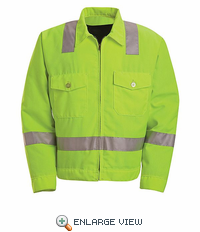 JY32 Hi-Visibility Jacket - ANSI 107-2004 Class 2 Level 2