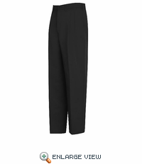 PT44BK Relaxed Fit Black Pleated Pant - Discontinued